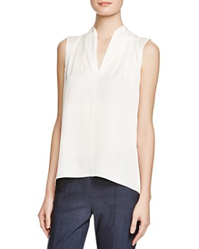 87833138663b82 Elie Tahari - Judith Stretch Silk Blouse ...