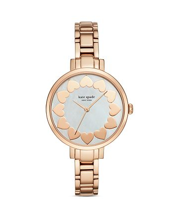kate spade new york - Gramercy Hearts Dial Watch, 34mm