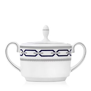 Vera Wang Wedgwood With Love Nouveau Indigo Imperial Sugar Bowl