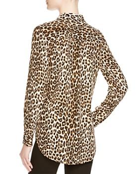 3620a3c72732fb ... Equipment - Leopard Print Slim Signature Shirt