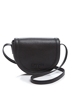 Tory Burch Seif T Leather Saddle Bag