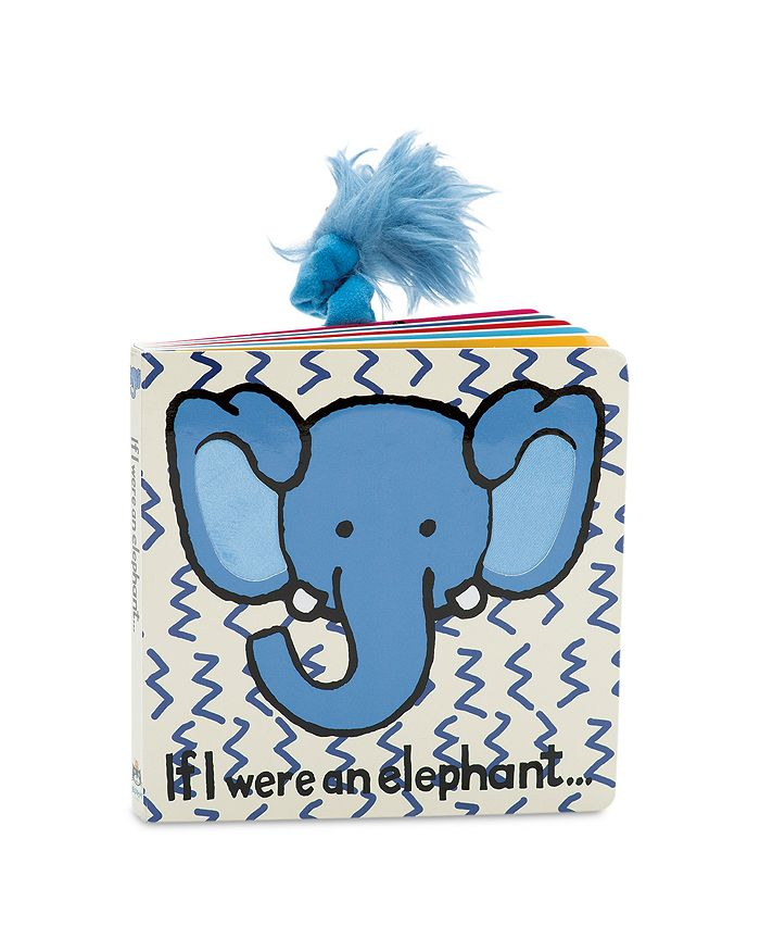 Jellycat - If I Were an Elephant Book - Ages 0+