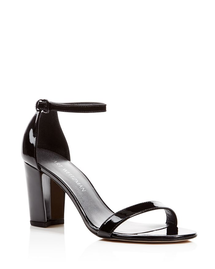 Stuart Weitzman - Women's Nearlynude Ankle Strap Sandals