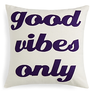 Alexandra Ferguson Good Vibes Only Decorative Pillow, 16 x 16 - 100% Exclusive