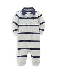 Ralph Lauren Boys' Rugby Stripe Coverall - Baby - Bloomingdale's_0
