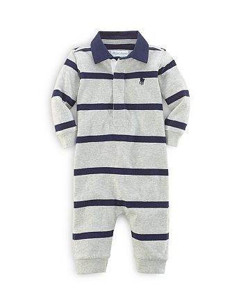 Ralph Lauren - Boys' Rugby Stripe Coverall - Baby