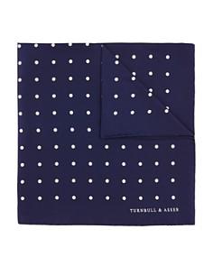 Turnbull & Asser Basic Dot Pocket Square - Bloomingdale's_0