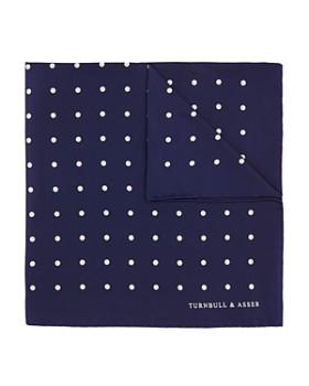Turnbull & Asser - Basic Dot Pocket Square