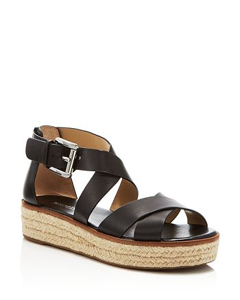 eafe10239e11 MICHAEL Michael Kors Darby Strappy Espadrille Platform Sandals ...
