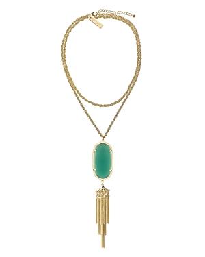 Kendra Scott Signature Rayne Pendant Tassel Necklace, 38