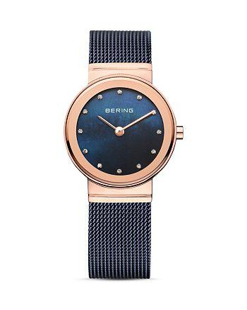 Bering - Classic Mesh Strap Watch, 26mm