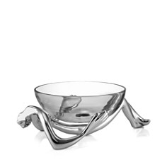 Carrol Boyes Reclining Glass Bowl & Stand - Bloomingdale's_0