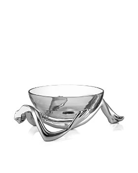 Carrol Boyes - Reclining Glass Bowl & Stand