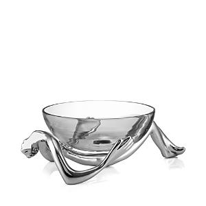 Carrol Boyes Reclining Glass Bowl  Stand