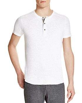 Wings and Horns - Slub Short Sleeve Henley