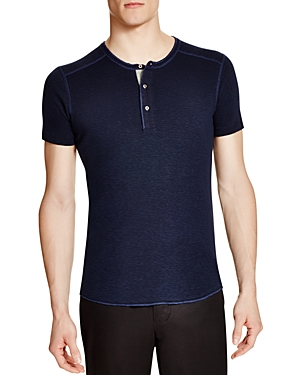 Wings + Horns Slub Short Sleeve Henley