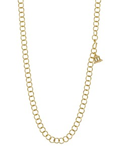 Temple St. Clair - 18 K Yellow Gold Chain Necklace, 32""