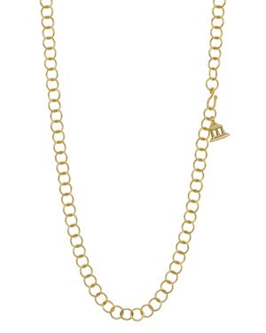 Temple St. Clair 18K Yellow Gold Chain Necklace, 32