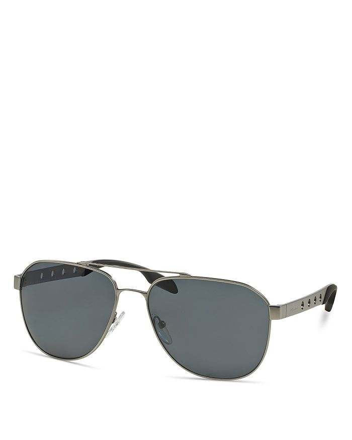 f7c806dddb1 Prada - Men s Polarized Punched Aviator Sunglasses