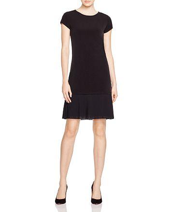 MICHAEL Michael Kors - Pleat Hem Shift Dress