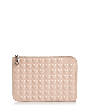 marc jacobs female marc jacobs embossed heart pouch