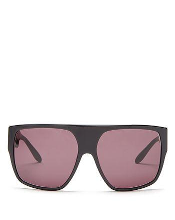 Moschino - Women's Iconic Oversized Logo Sunglasses, 61mm
