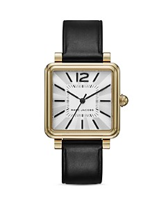 MARC JACOBS - Vic Leather Strap Watch, 30mm