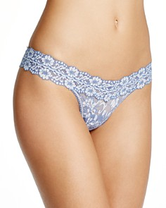 Hanky Panky Cross-Dyed Signature Lace Low-Rise Thong - Bloomingdale's_0