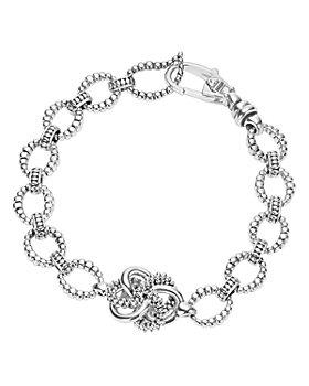 LAGOS - Sterling Silver Love Knot Link Bracelet