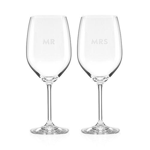 kate spade new york - Darling Point Mr. & Mrs. Wine Set