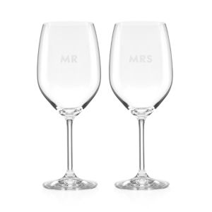 kate spade new york Darling Point Mr. & Mrs. Wine Set