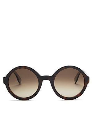 Fendi Round Sunglasses, 51mm
