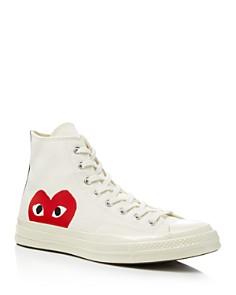 Comme Des Garcons PLAY - Men's Converse Chuck Taylor High Top Sneakers