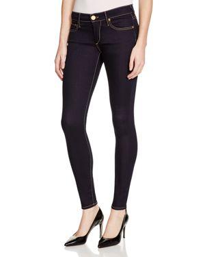 True Religion Casey Super Skinny Jeans in Body Rinse