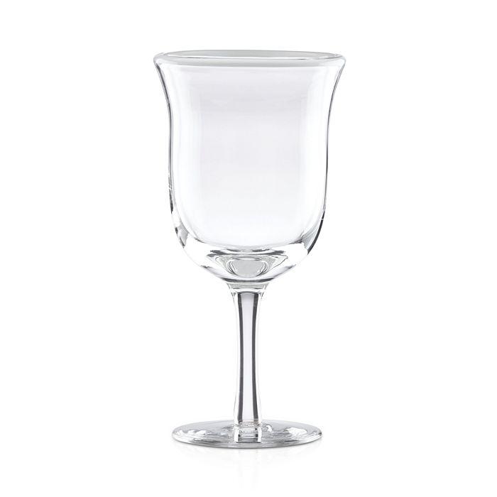 Dansk - Color-Rimmed Barware Pearl Wine Glass - 100% Exclusive