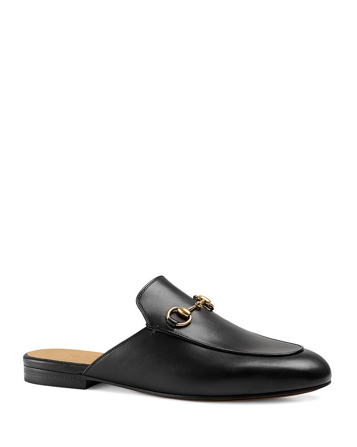 d3ec3e9a7 Gucci Women's Princetown Leather Mules | Bloomingdale's