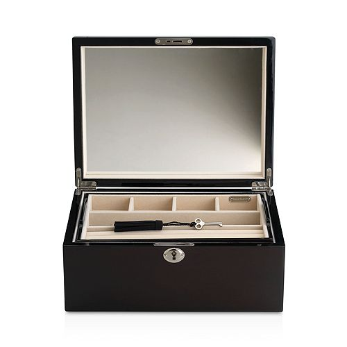 Reed & Barton - Natural Instinct Modern Lines Espresso Jewelry Box