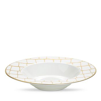 Domenico Vacca by Prouna - Alligator Gold Soup Plate