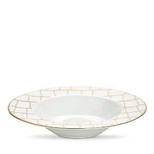 Domenico Vacca by Prouna Alligator Gold Soup Plate