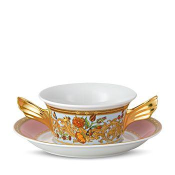 Versace - Butterfly Garden Cream Soup Cup
