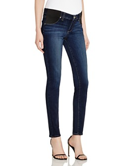 PAIGE - Verdugo Skinny Maternity Jeans in Nottingham