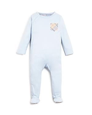 Burberry Boys Signature Plaid Pocket Footie  Baby