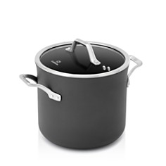 Calphalon Signature Nonstick Cookware 8-Quart Stock Pot with Cover - Bloomingdale's_0