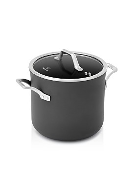 Calphalon - Signature Nonstick Cookware 8-Quart Stock Pot with Cover