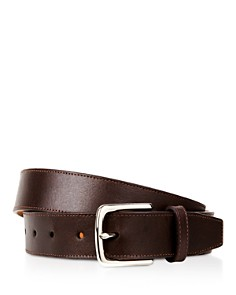 Cole Haan Buffed Leather Belt - Bloomingdale's_0