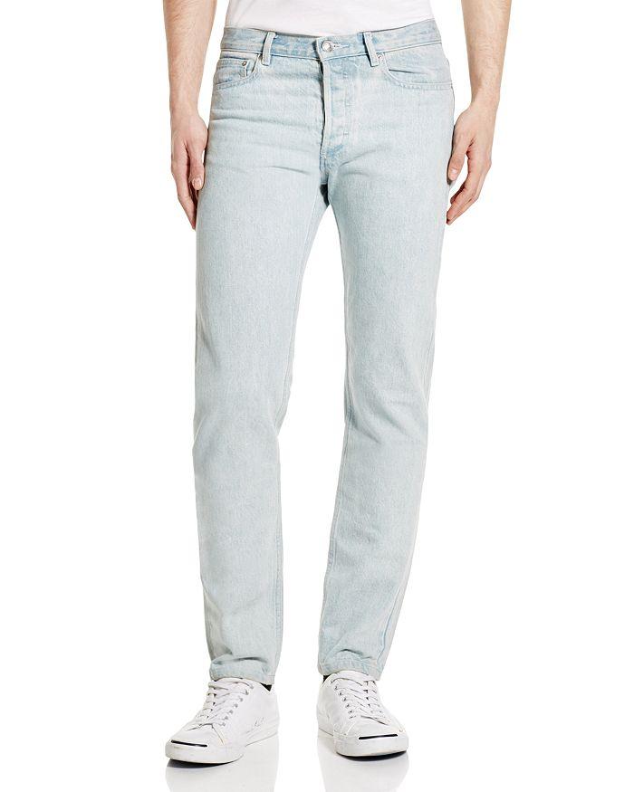 8112ec79f9ea A.P.C. Petit New Standard Slim Fit Jeans in Washed Indigo ...