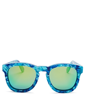 Wildfox Fox Mirrored Sunglasses, 50mm