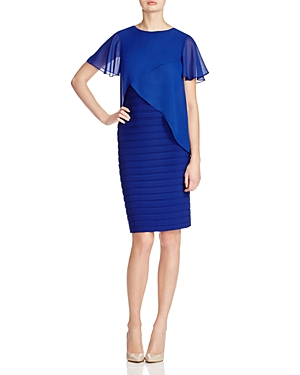 Adrianna Papell Tiered Bodice Dress