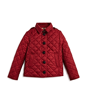 Burberry Girls' Diamond Quilted Jacket - Little Kid, Big Kid