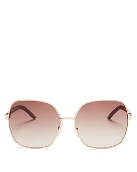 MARC JACOBS - Women's Polarized Oversized Square Sunglasses, 61mm